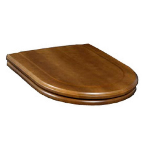 Outstanding Villeroy And Boch Hommage 99266100 Toilet Seat With Lid Walnut Stained Spiritservingveterans Wood Chair Design Ideas Spiritservingveteransorg